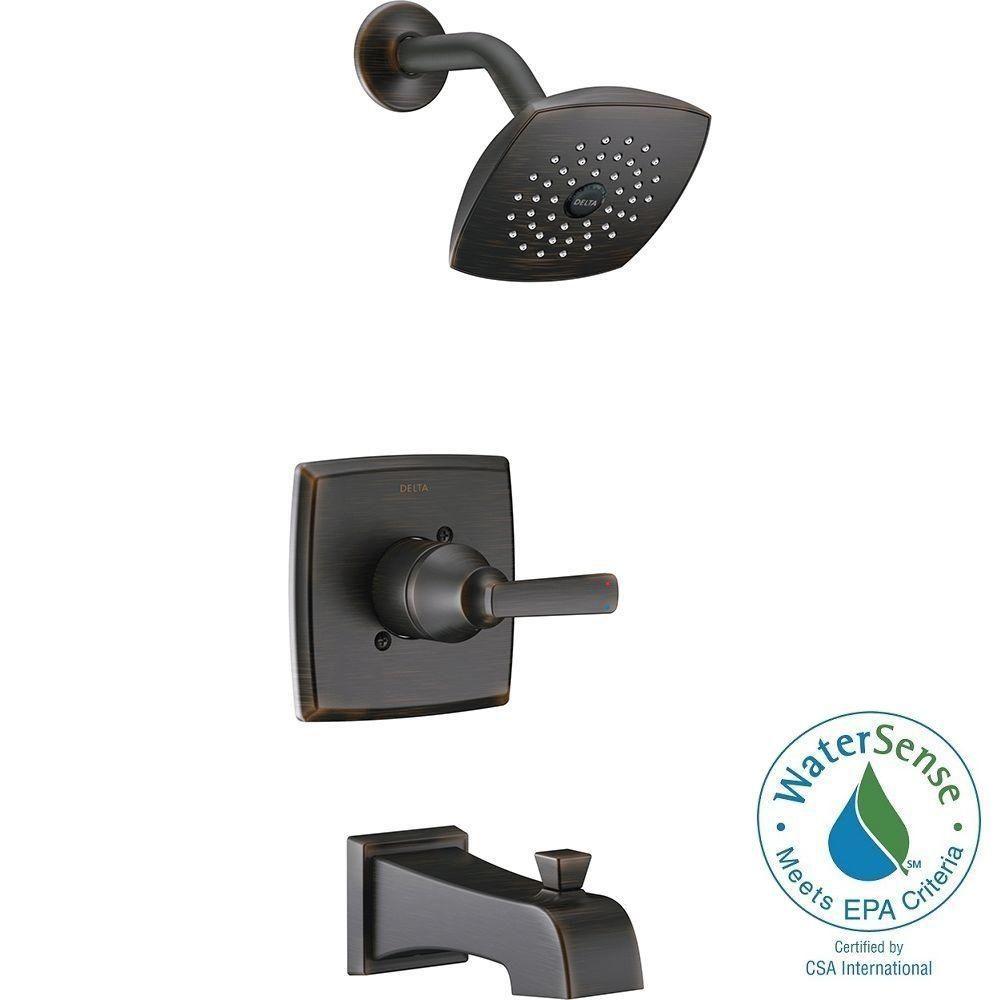 Delta Ashlyn 1Handle Pressure Balance Tub and Shower