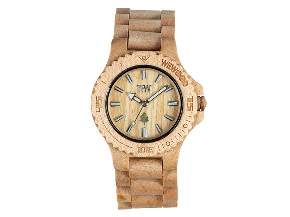 Wooden watch by Fratelli Diversi