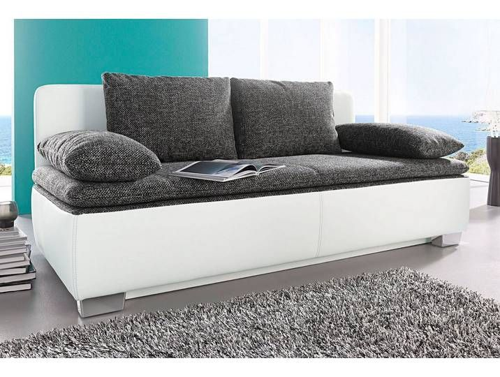 Schlafsofa Weiss 203cm Furniture Home Decor Decor