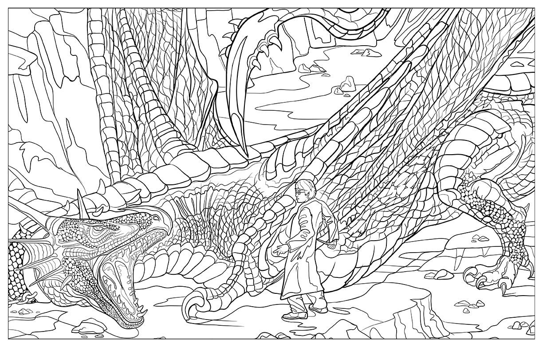 livro de colorir do harry - Pesquisa Google   Colorir Harry Potter ...