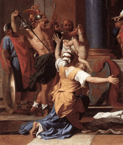 Mother S Love In The Judgment Of Solomon By Nicolas Poussin Pinacotheca Nicolas Poussin Italian Art Renaissance Art