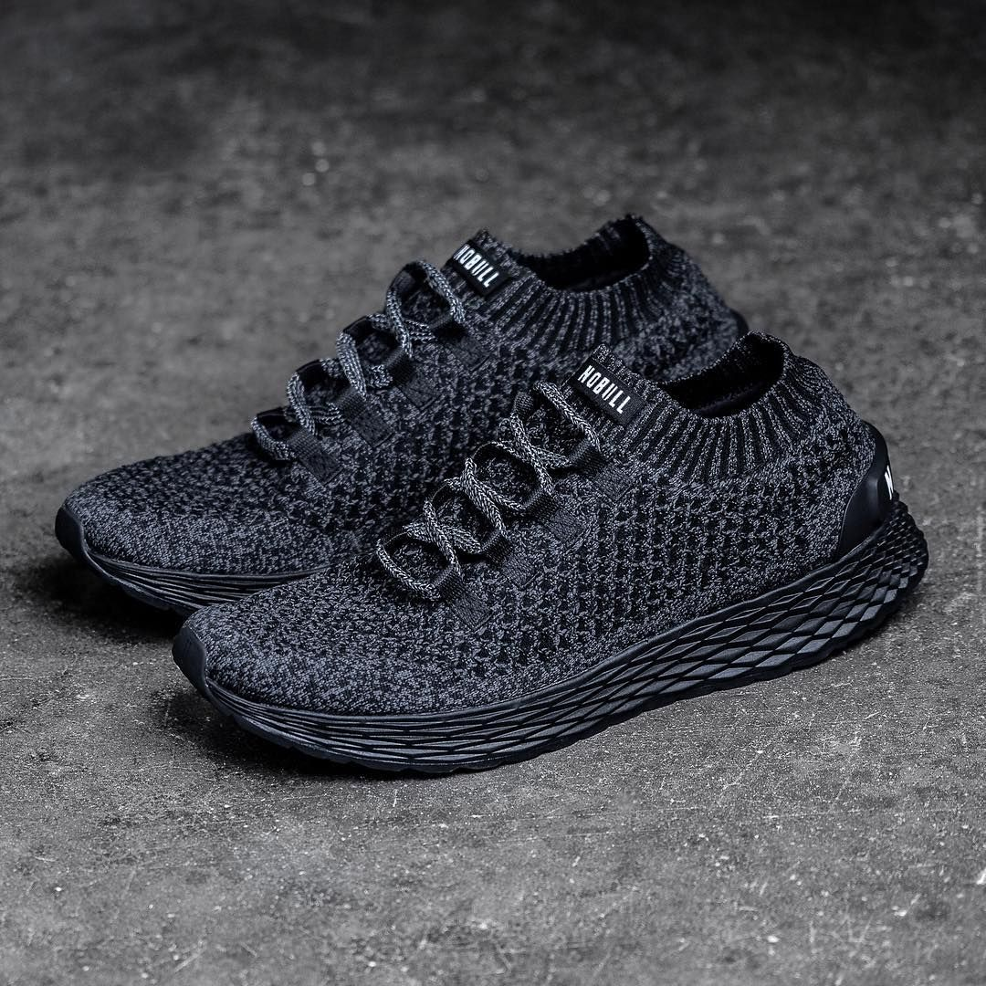 Introducing the Black Knit Runner