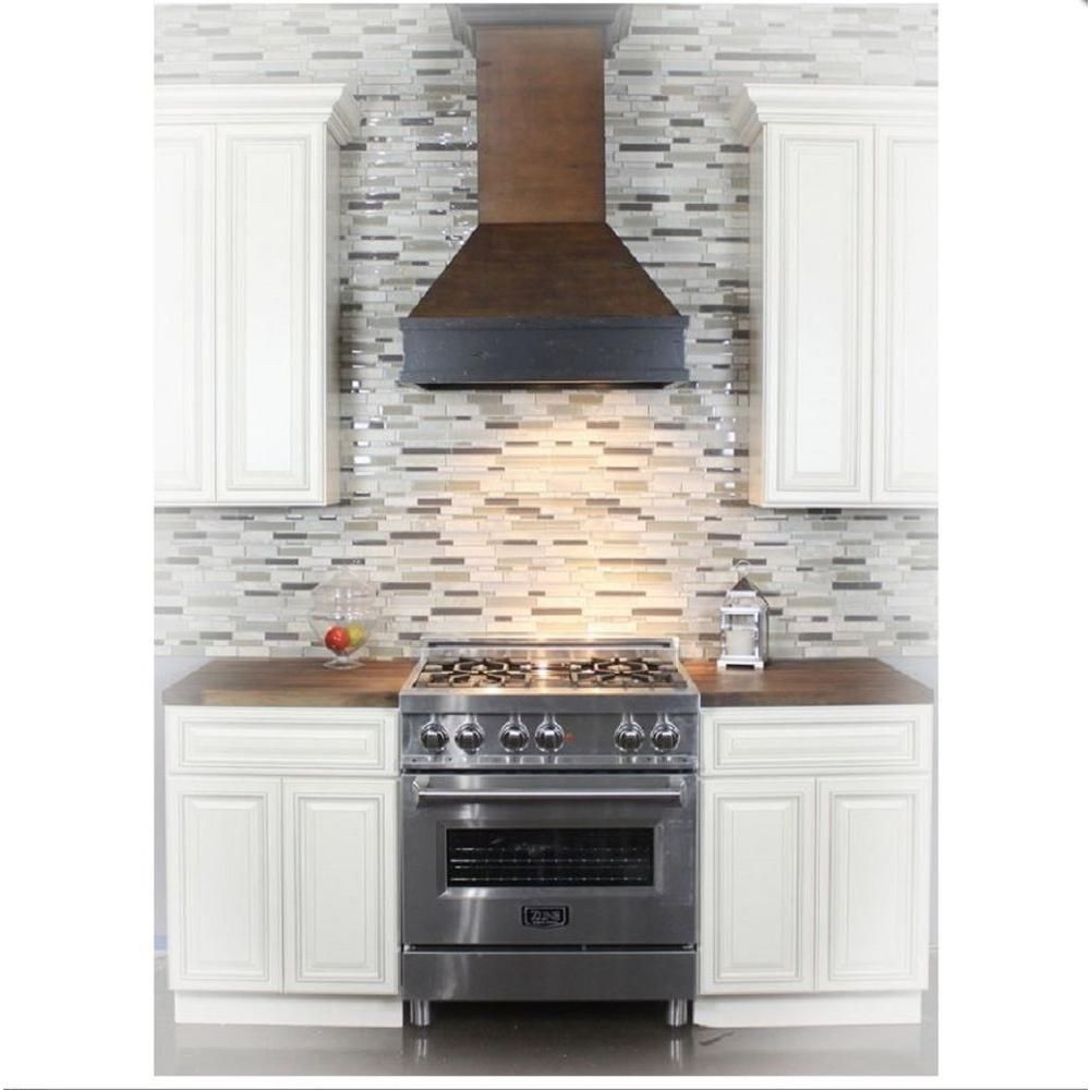 Here\'s what this range looks like in a kitchen... of sorts. ZLINE 36 ...