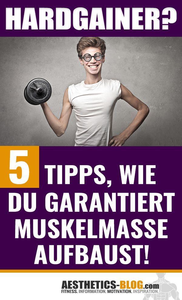 #aufbaust #Hardgainer #Muskelmasse #schnell #Tipps #wie Hardgainer? 5 Tipps, wie Du schnell Muskelma...