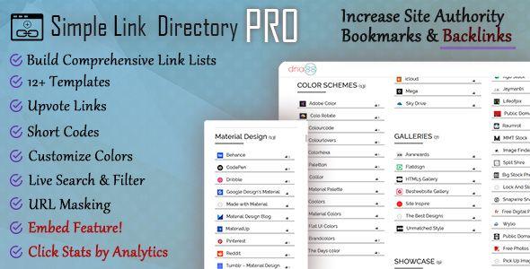 Simple Link Directory Pro -   codeholdernet/item/wordpress
