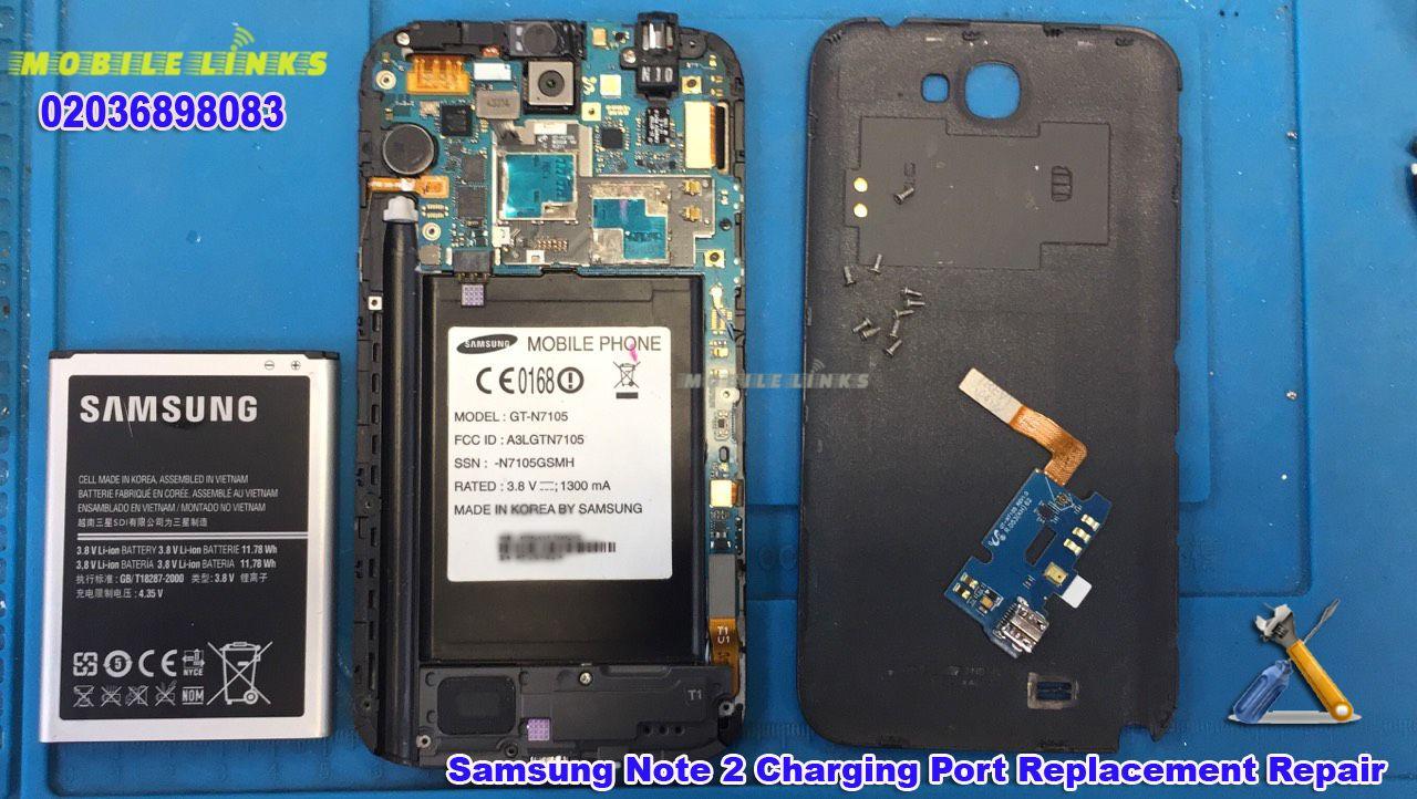 Samsung Galaxy Note 2 N7100 Charging Problem Repair Tudo De Celular Celular