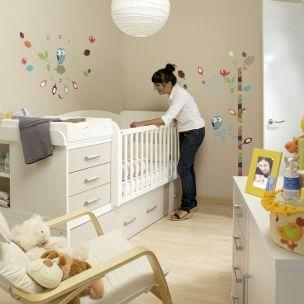 Cuna convertible en cama theo may pinterest babies room and nursery - Habitaciones cuna convertible en cama ...