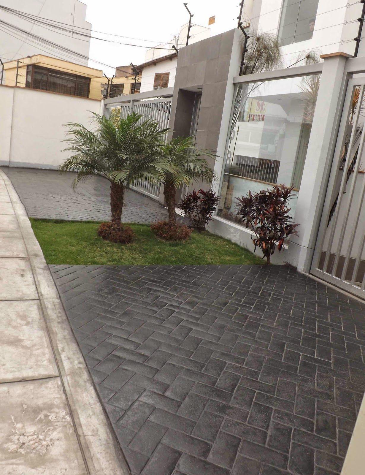 Increte per systems camino de concreto pinterest Pisos para patios pequenos