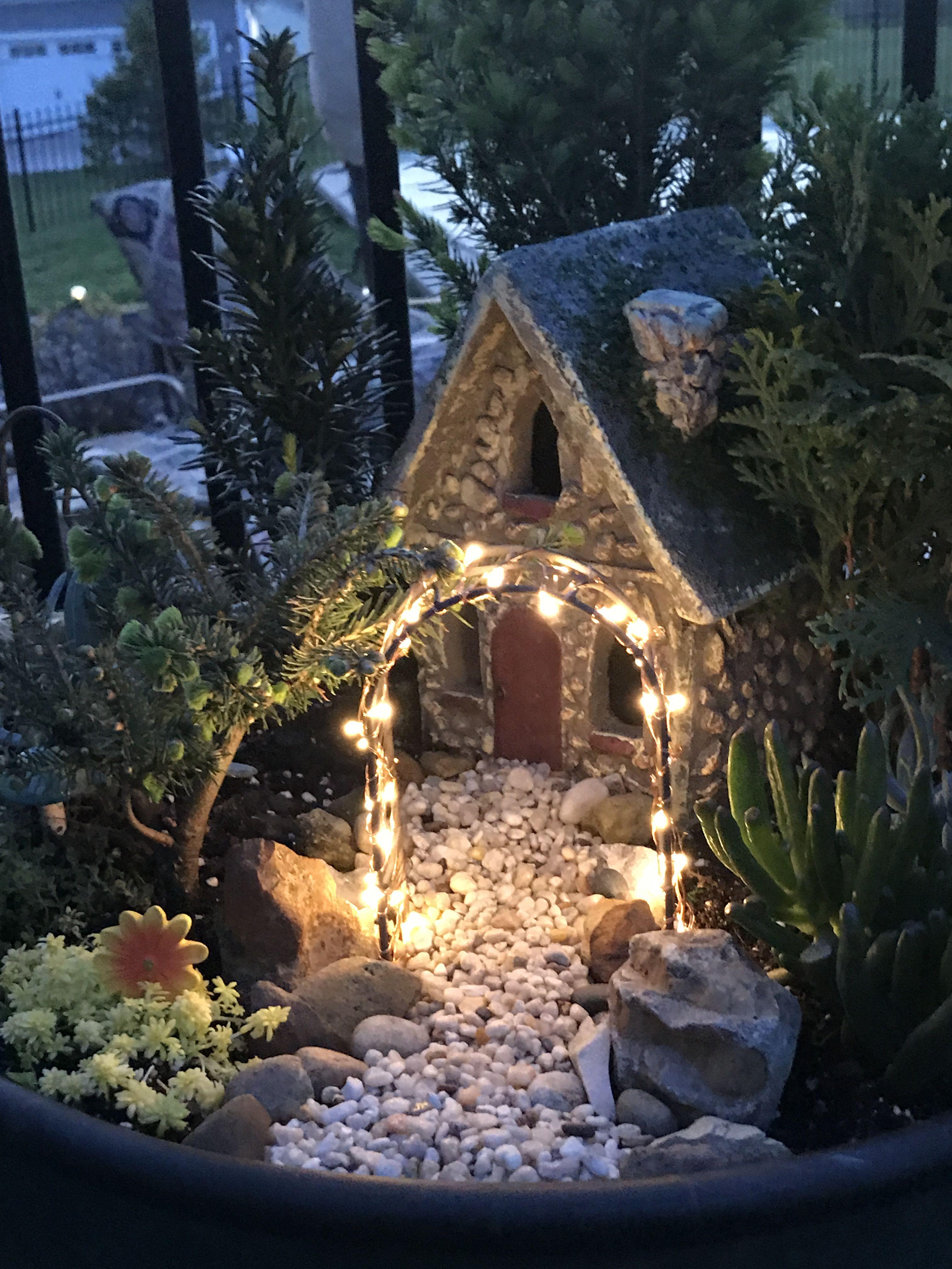 Fairy Garden At Night!