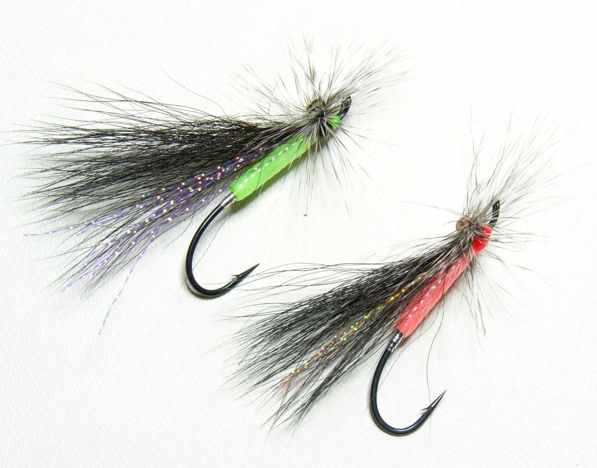 Green  & Orange Stone Fly tied by JF Molloy