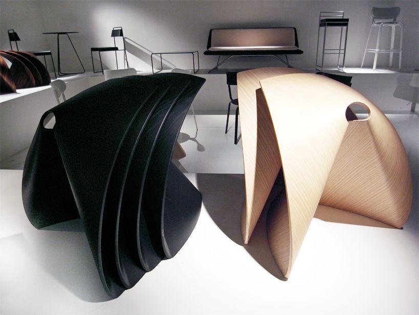 shin azumi: 'AP' stool for lapalma