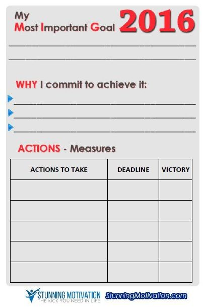 Goal Setting Worksheet From Stunningmotivation  Test