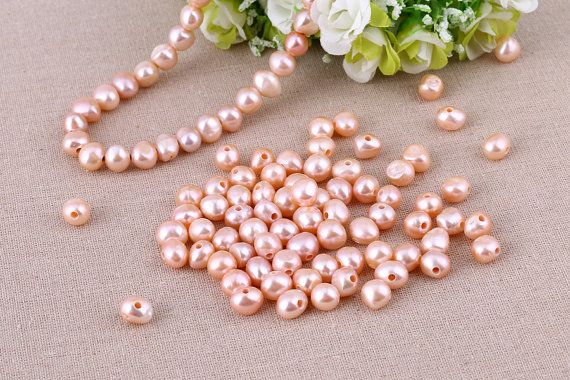 T-L957 Pink freshwater pearls,natural baroque pearls,30 pieces,jewelry making…