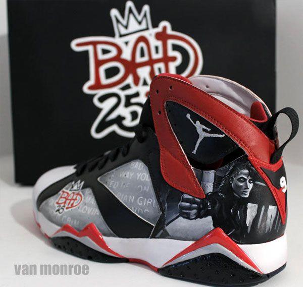 "more photos 73513 2c60a Air Jordan VII ""Bad 25″ Custom for Spike Lee"