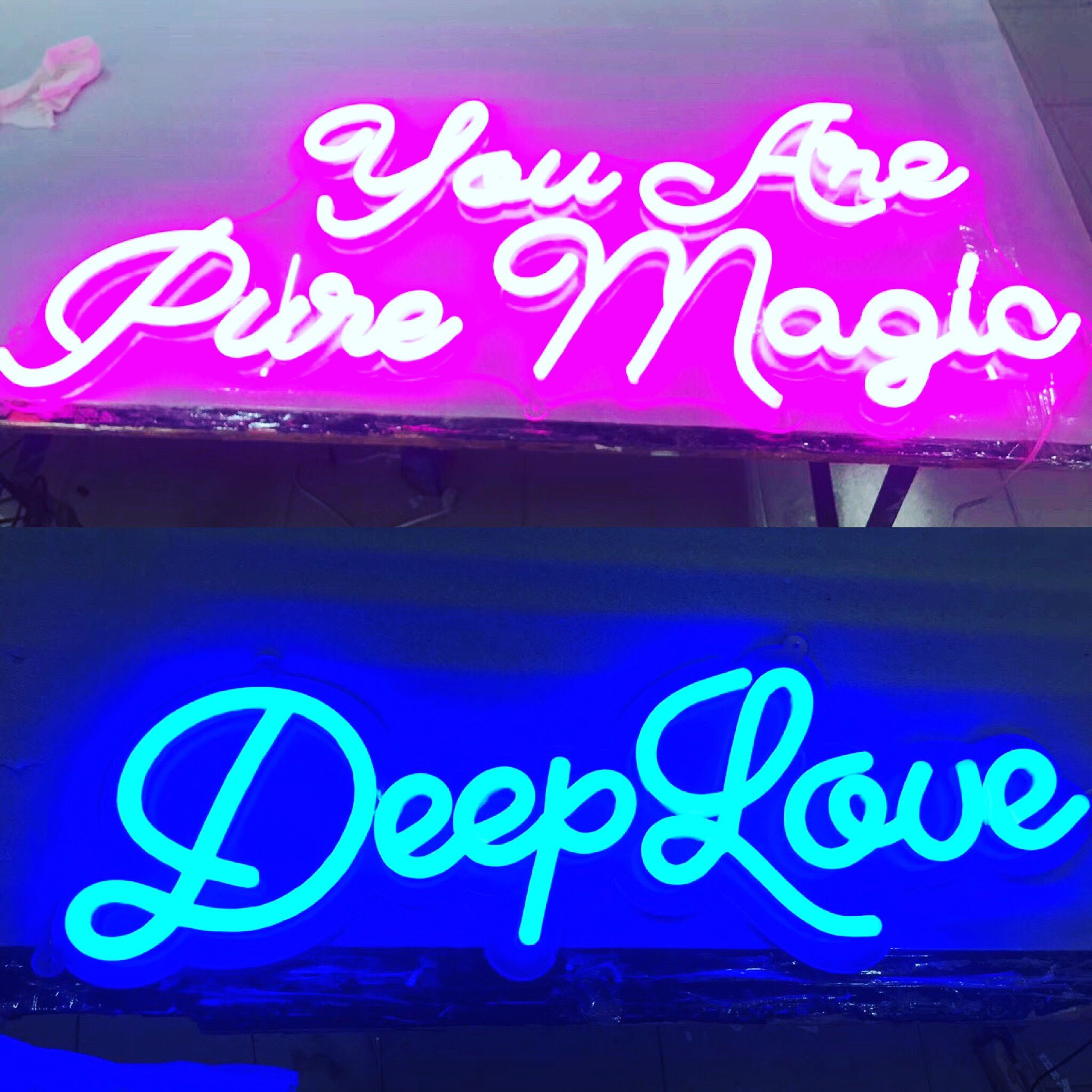 For home decoration Led neon signs Pinterest