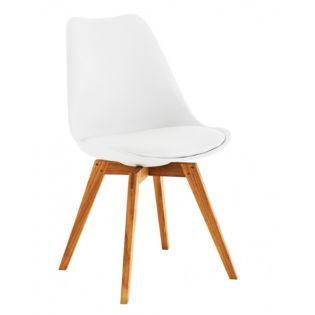 chaise blanc ch ne fly 119 aur bureau pinterest. Black Bedroom Furniture Sets. Home Design Ideas