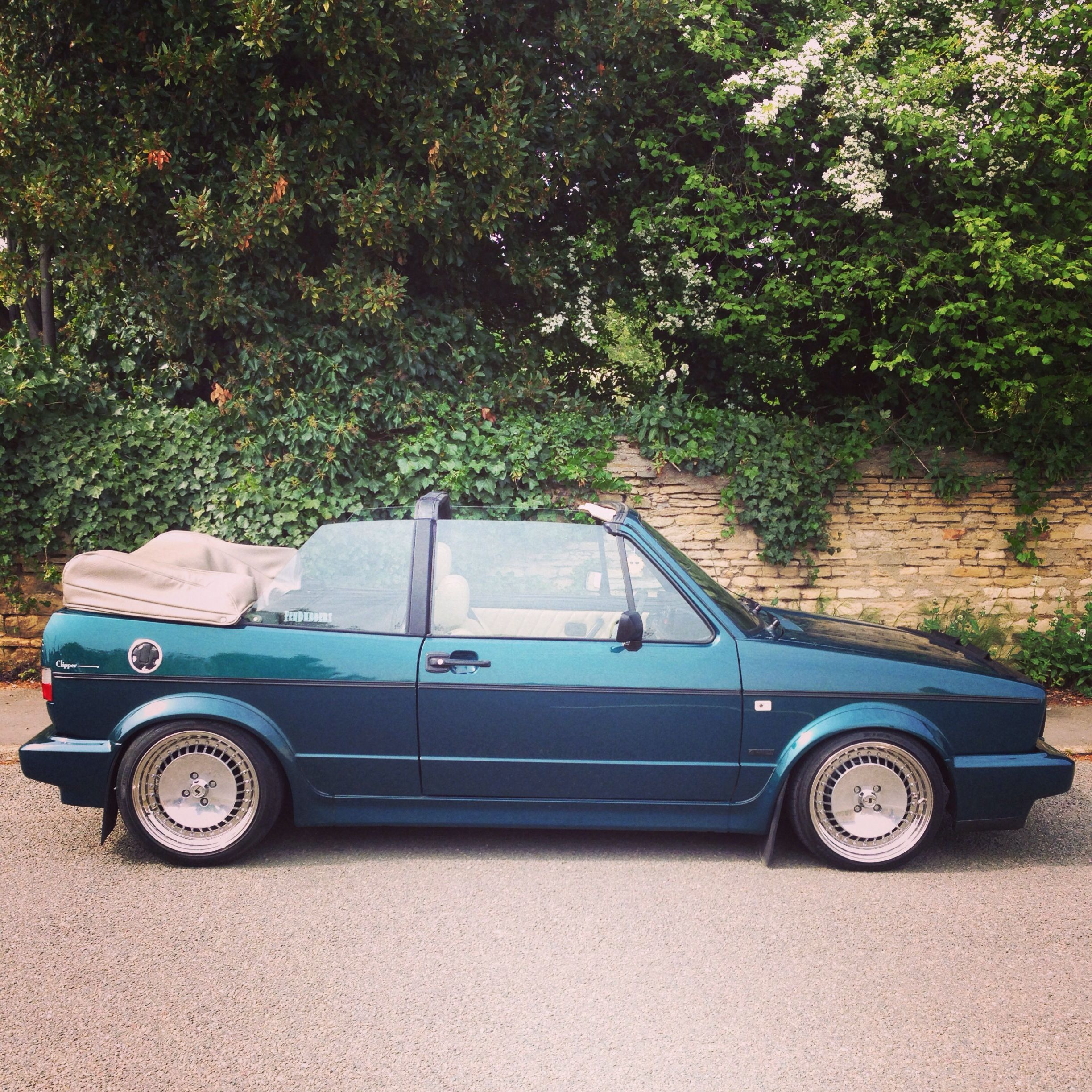 My Baby Mk1 Vw 1.8 Golf Cabriolet (With Images