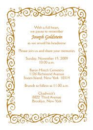 Image Result For Free Tombstone Unveiling Invitation Cards