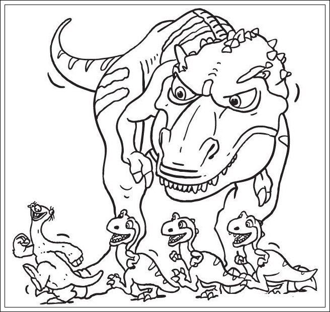 Ausmalbilder Ice Age Kostenlos Dinosaur Coloring Pages Ice Age Dinosaur Coloring