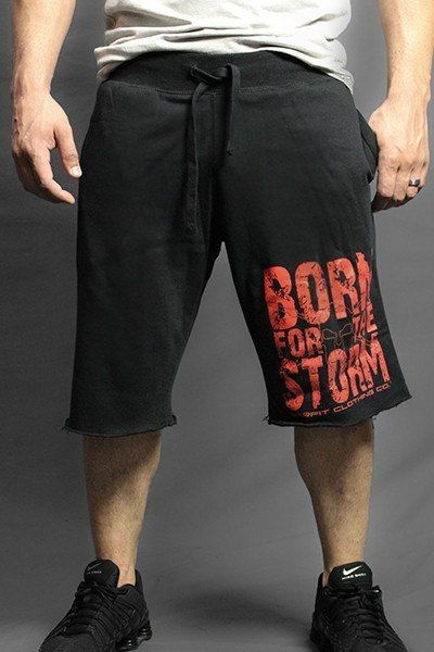 Born For The Storm Fleece Shorts