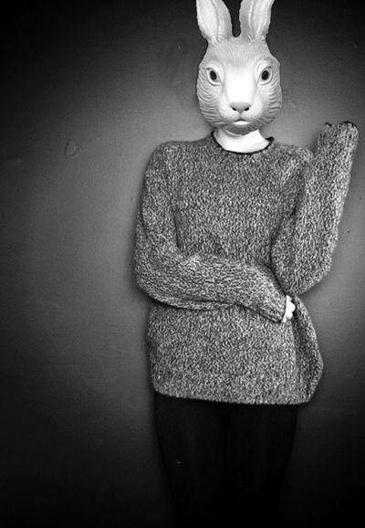 personas con mascaras de animales tumblr - Buscar con Google