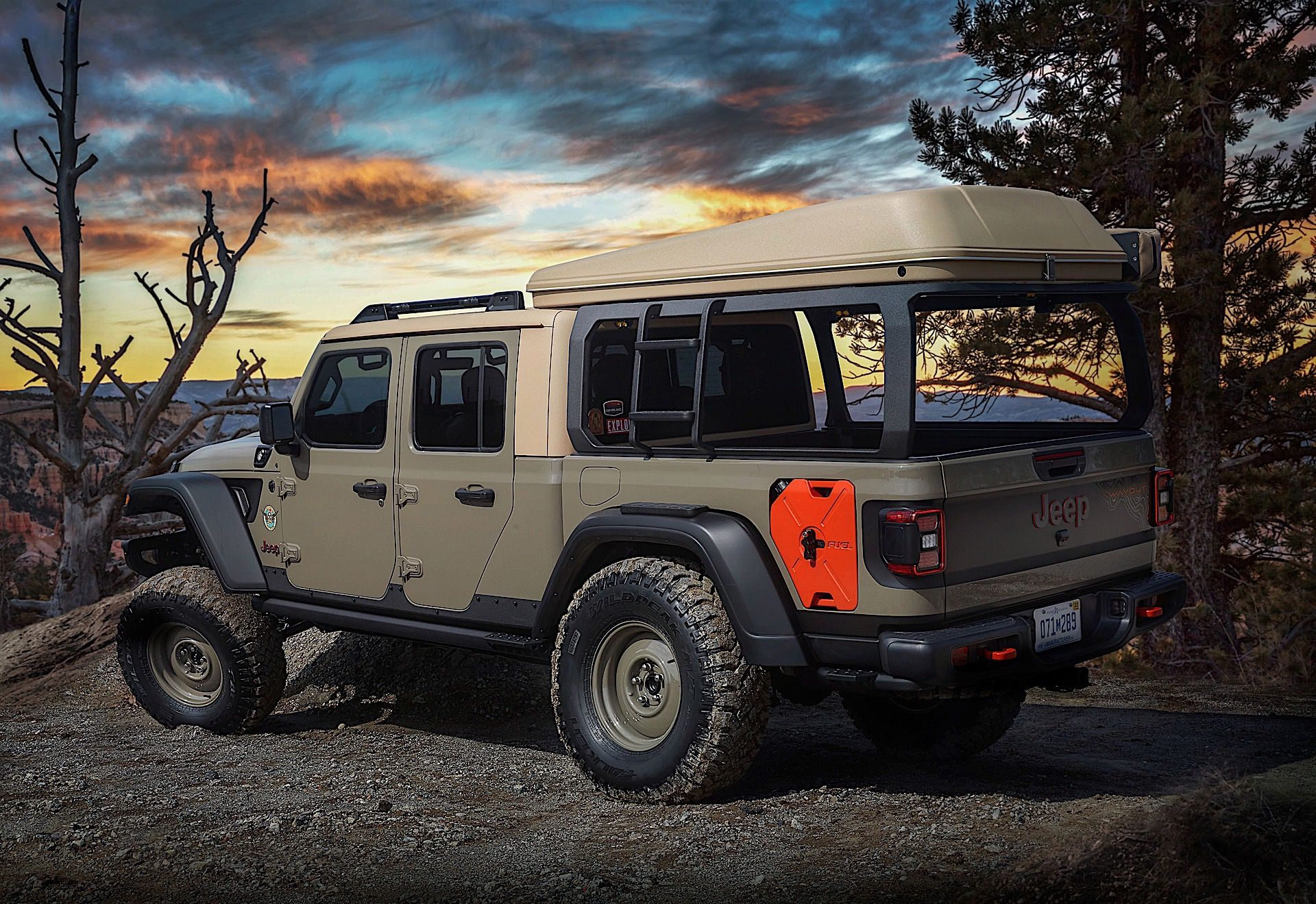 2020 Jeep Gladiator Dominates This Year S Radical Easter Jeep Safari Concepts Voiture Vehicule