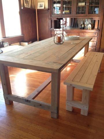 Farmhouse Table Ana White Pinterest