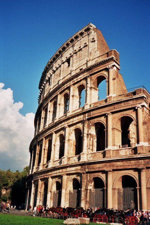 Coliseo Romano Roma Italia Italy Painting Italy Pisa