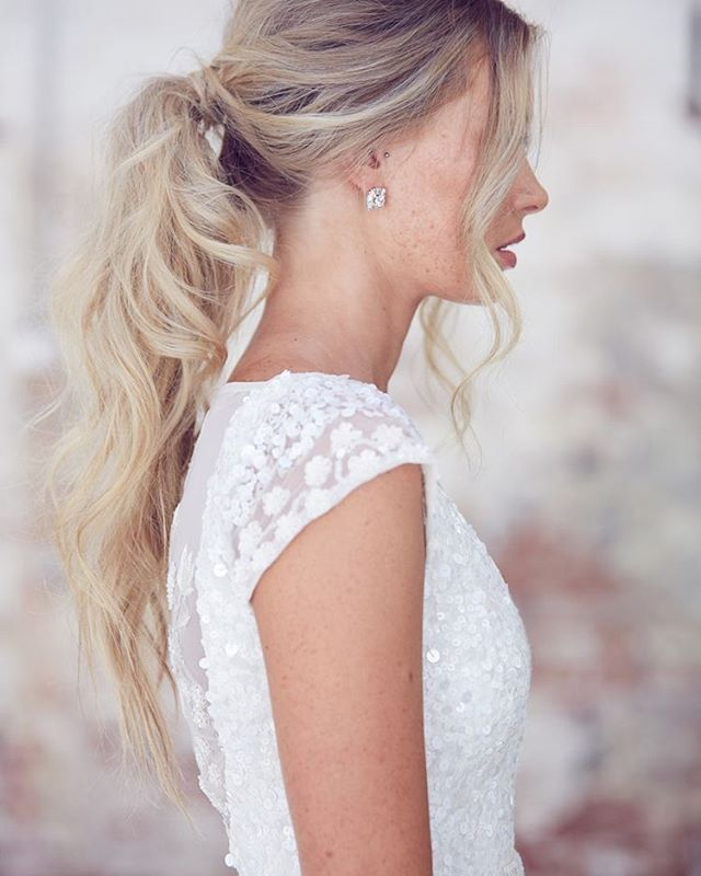 Detailed Gowns Ponytails Gown Caitlyn Kwhbridal