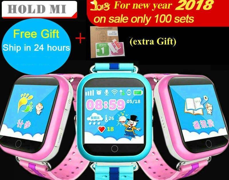 Discount !! Hold Mi GPS Smart Watch Q750 Q100 Baby GPS