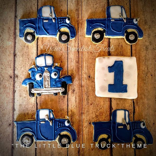The Little Blue Truck cookies