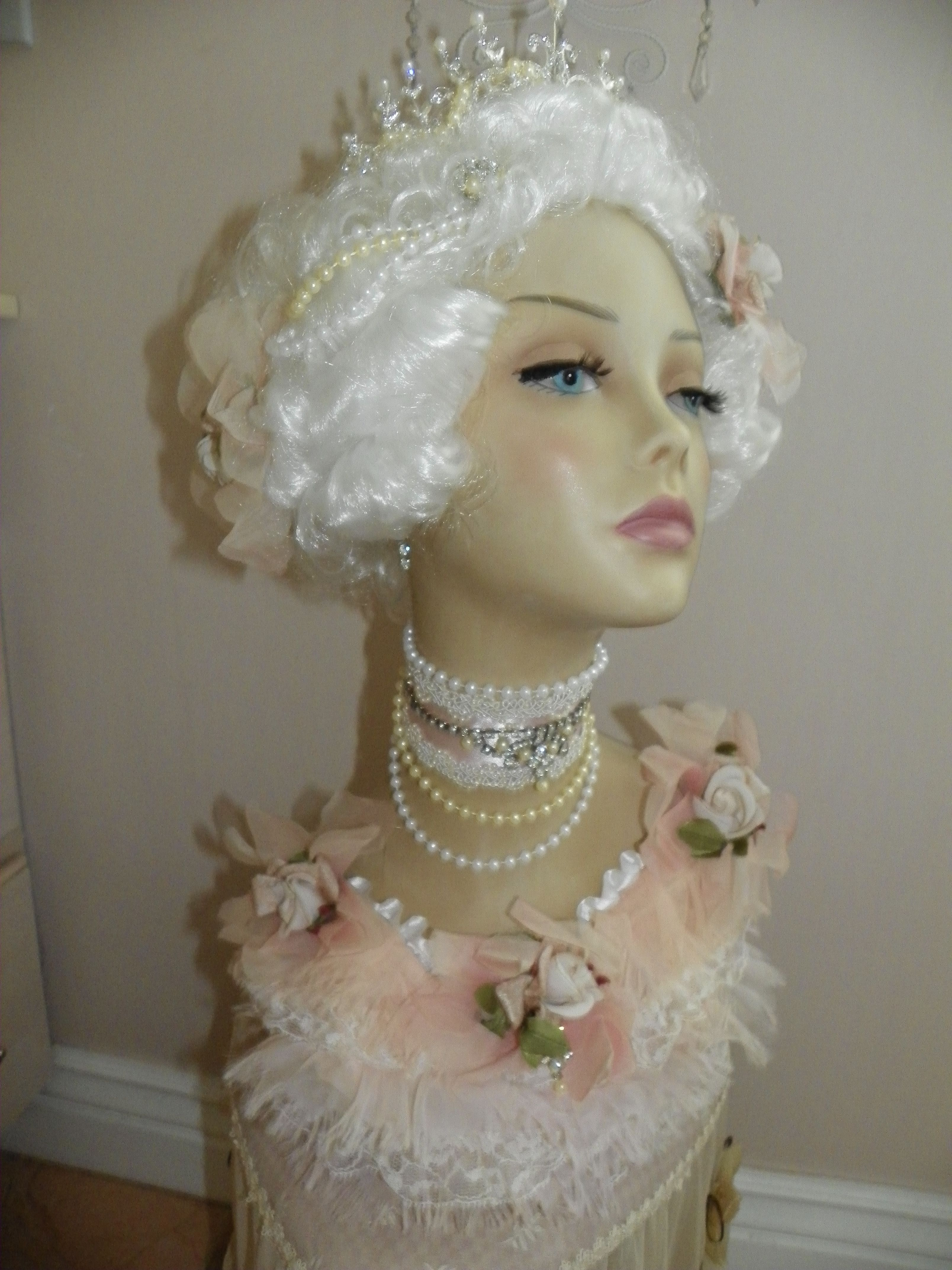 My Creation Marie Bust in Pink  www.romanticrosecreations.com