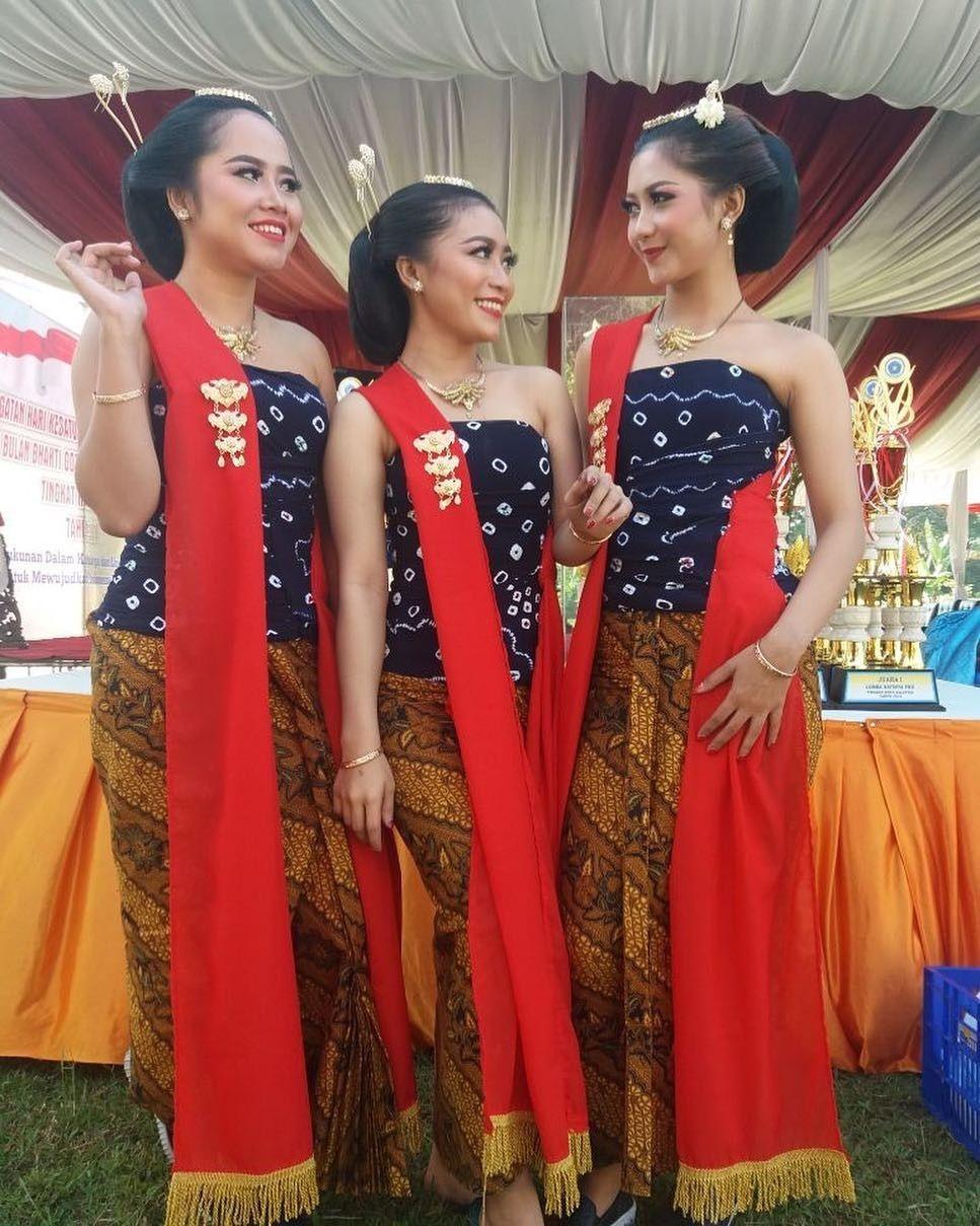 Tarian Gambyong Jawa Tengah : tarian, gambyong, tengah, Gambyong, Pareanom,, Central, Budaya,, Penari,, Kostum