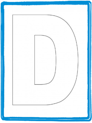 Preschool letter craft for letter d alphabet letter d template preschool letter craft for letter d alphabet letter d template and letter d spiritdancerdesigns Images