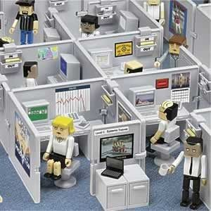 Crees que existan lugares de trabajo asi? / Have you seen offices like this?  Not sure....