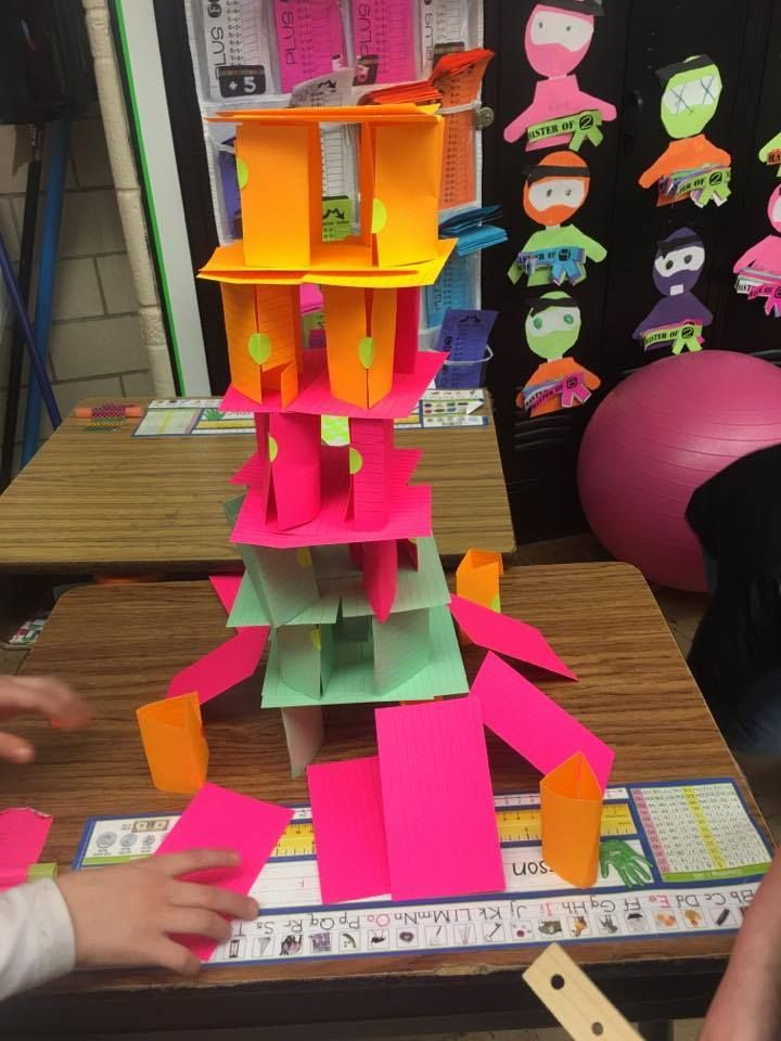 Photo of STEM PROJECT For Elementary Grades ~ BUILDING A HOUSE OF CARDS – Teaching Second Grade