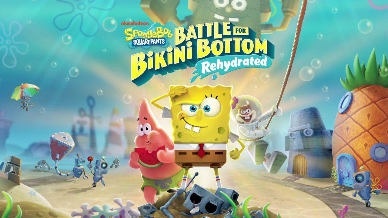 Spongebob Squarepants Battle For Bikini Bottom How To Drain The Lake In 2020 Spongebob Squarepants Spongebob Squarepants