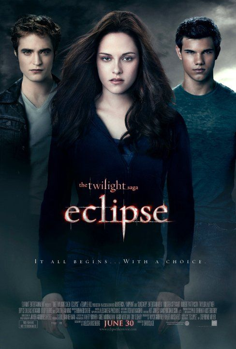 The Twilight Saga Eclipse Movie Poster 2 Of 11 Imp Awards Eclipse Filme Filmes Gratis Filmes