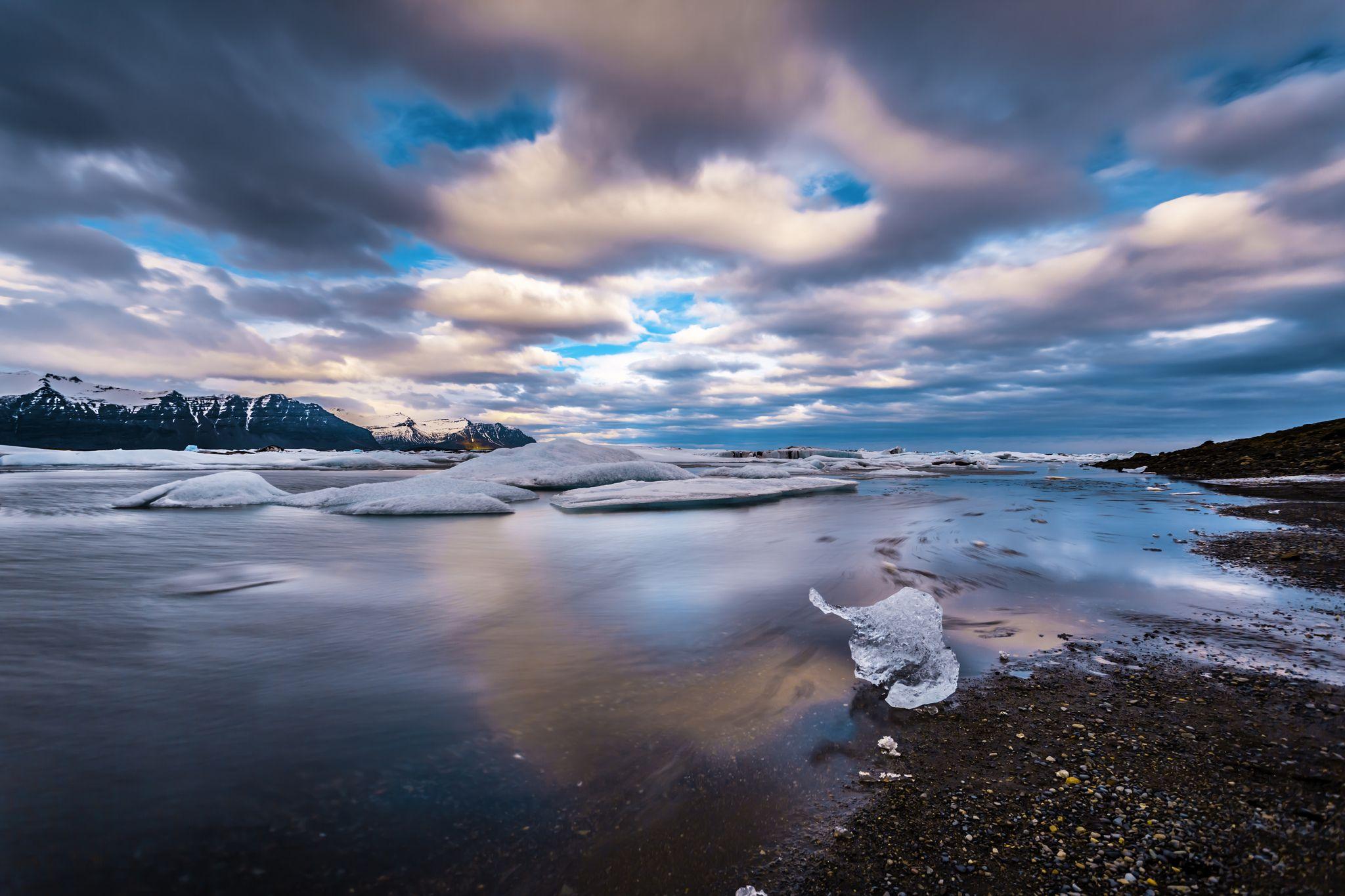 Iceberg At Jökulsárlón