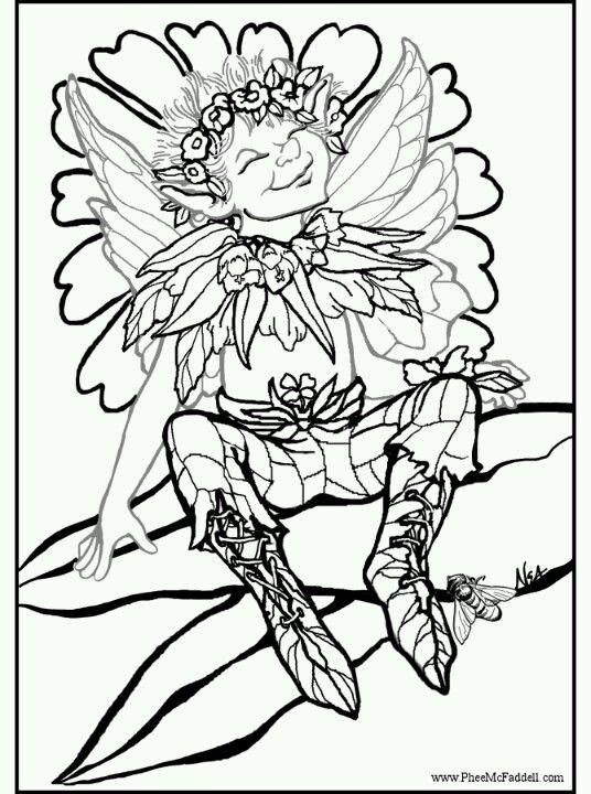 Phee McFaddell Artist sweet free coloring page | Pfee McFaddell ...