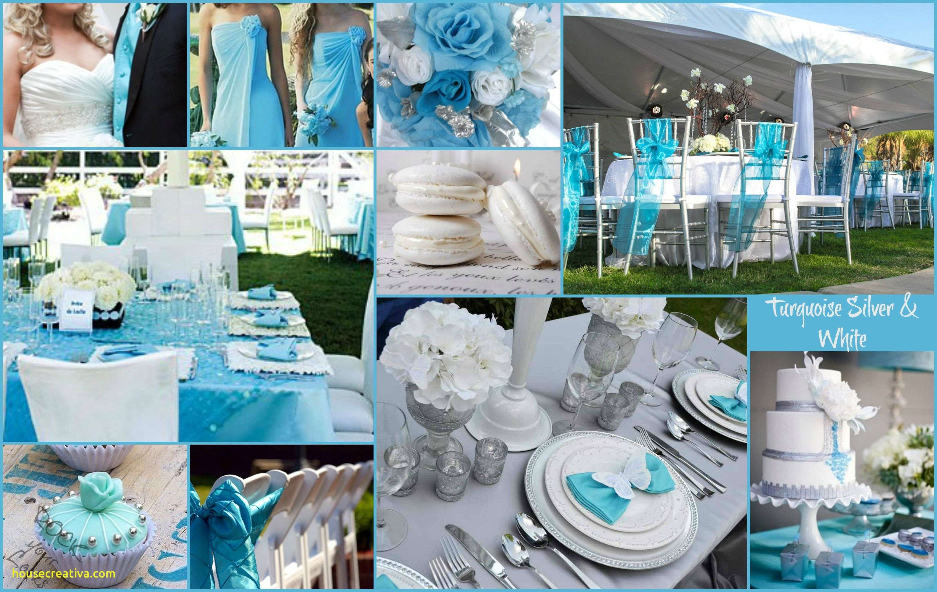 Beautiful Baby Blue Silver And White Wedding Decorations Homedecoration Homedecorations Homedecorationideas Homedecorationtrends Homedecorationincrochet
