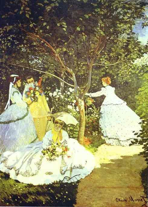 Women In The Garden Claude Monet Claude Monet Art Monet Art Claude Monet Paintings