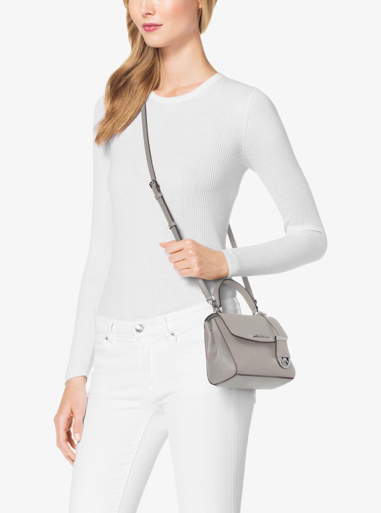 0b240e3e54d5 MICHAEL KORS Ava Extra-Small Saffiano Leather Crossbody.  michaelkors  bags   shoulder bags  leather  crossbody