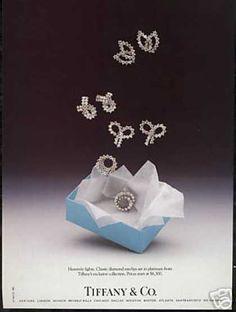 Tiffany Co Diamond Earclips Jewelry Vintage