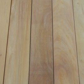 Garapa hardwood decking from Silvatimber