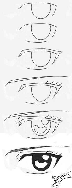 dibujos de ojos a lapiz de muecos  Buscar con Google