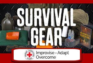 Survival Gear at Urban Survival Times Blog #survival #prepping #gear #preparedness