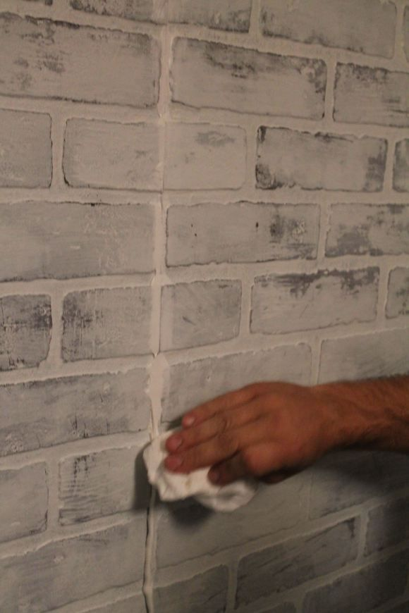 How To Brick Panelling And White Wash Technique White Wash
