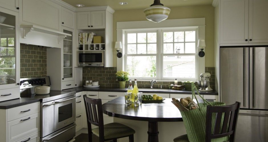 Exceptional Classic Bungalow Kitchen Remodel Portland Oregon | Mosaik Design