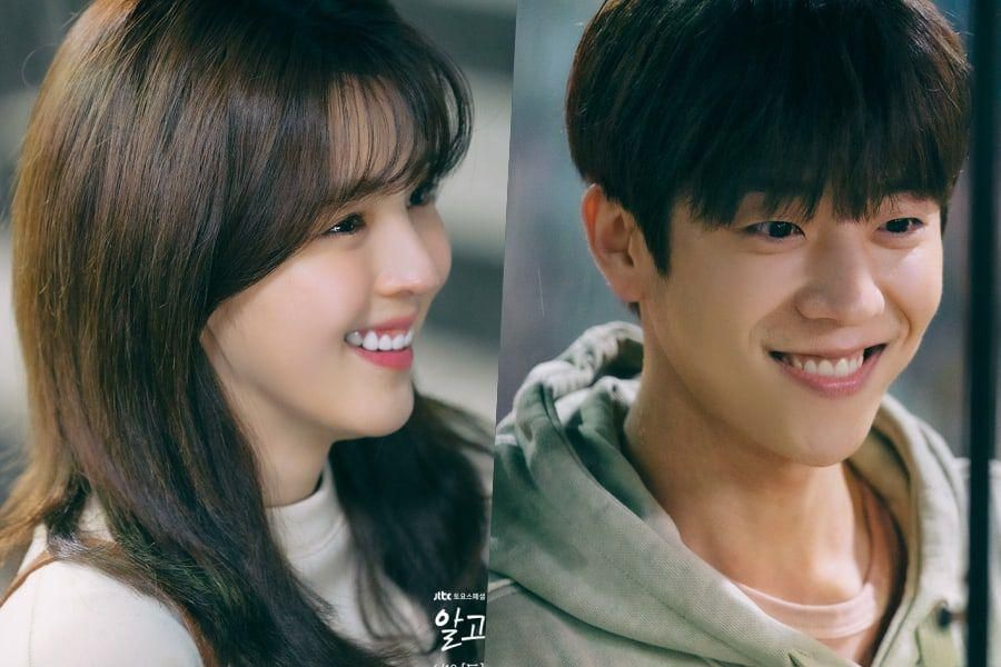 """Chae Jong Hyeop Puts A Bright Smile On Han So Hee's Face In """"Nevertheless"""""""